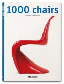 The cover of a book titled: One thousand chairs