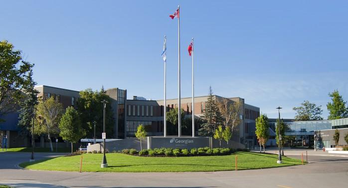 Georgian College Barrie Campus exterior