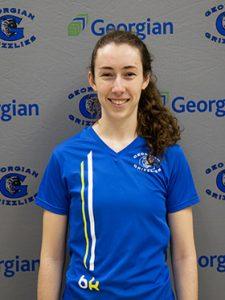 Third year student Jessica Maher